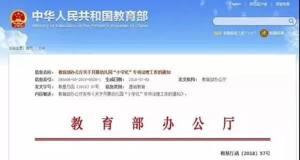 """桂林的幼儿园都不能教这些东西了,近日,教育部发布《关于开展幼儿园""""小学化""""专项治理工作的通知》"""