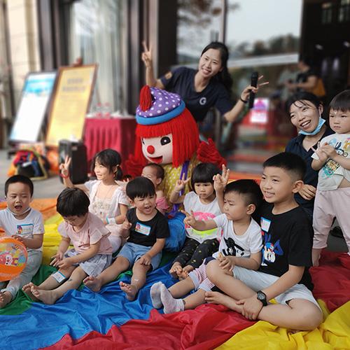 六一活动回顾 桂林金宝贝早教户外活动体验!让早教与智趣共同成长!