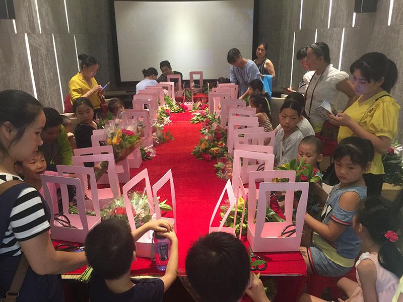 我是小小花艺师亲子插花体验,在棠棣之华活动回顾